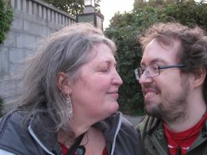 Jarle & I at Frognerparken