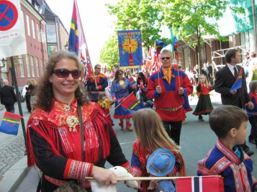 Sami in parade