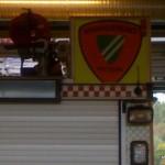 Nittedal fires department emblem on fire truck