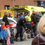 Police dog and handler